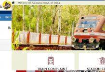 Indian Rail Official Website List