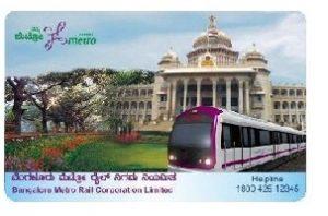 Namma Bangalore MetroSmartCard