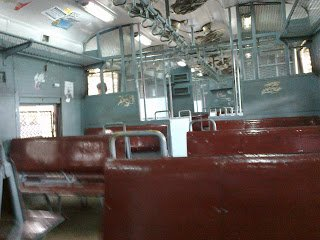 Mumbai Local Inside View