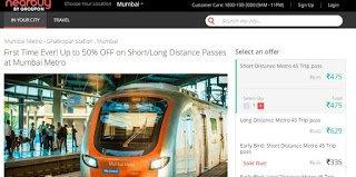 Mumbai Metro Latest Recharge Offers