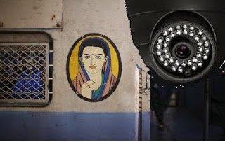 CCTV Camera in Trains