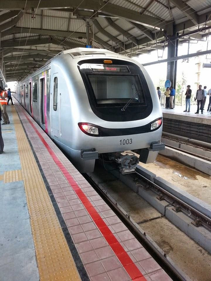 MUMBAI METRO :  Revised Ticket Fare Chart