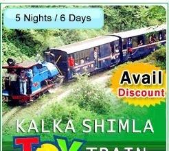 Kalka - Shimla Toy Train