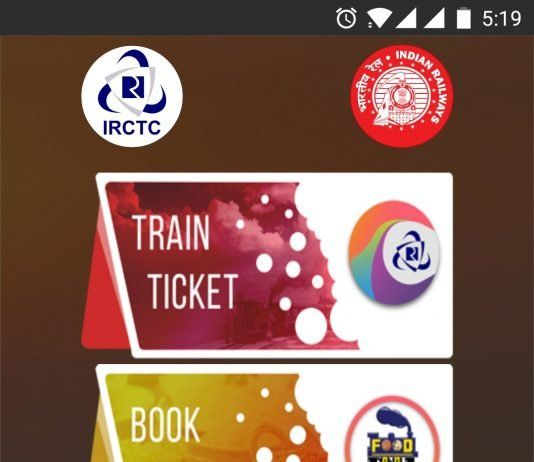 IRCTC Rail Connect Indian Rail Mobile App