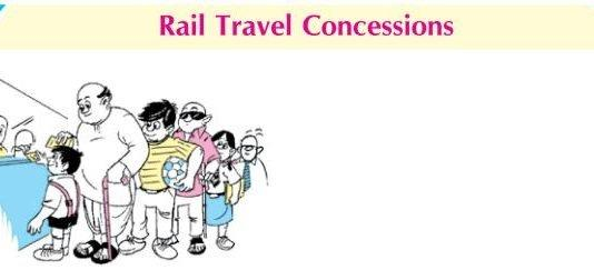 Concession Rules for Indian Railway