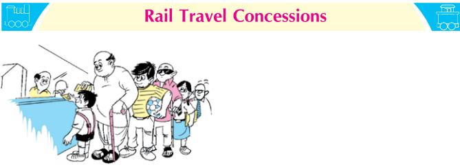 Concession Rules : Indian Railway : 2020