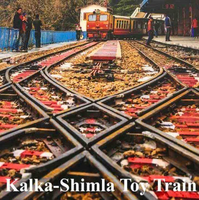 Kalka-Shimla Toy Train Service