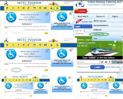 Wheelchair Booking Method