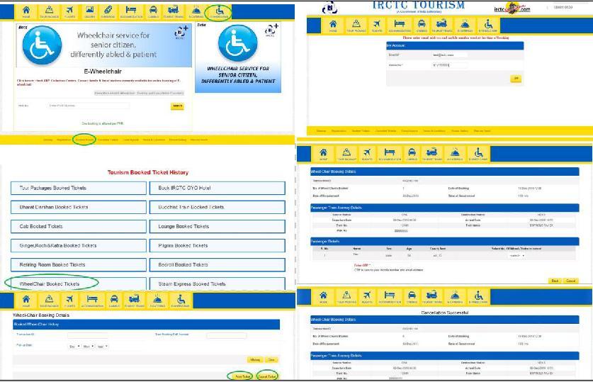 Wheelchair Cancellation Method