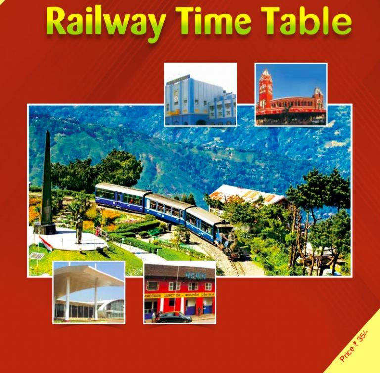 NEW TRAIN TIME TABLE 2019 – 2020 Details