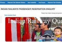 Indian Railway Quotas