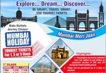 Mumbai Local Tourist Train Ticket