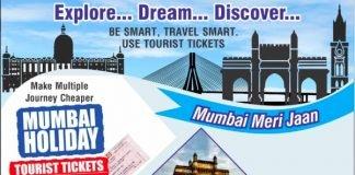Mumbai Local Tourist Train Ticket
