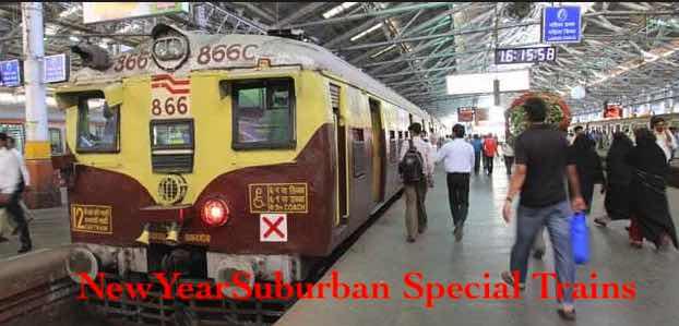 NewYear Suburban Special Trains