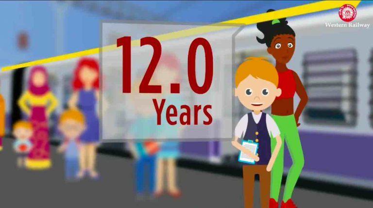 Child Fare Rules in Trains