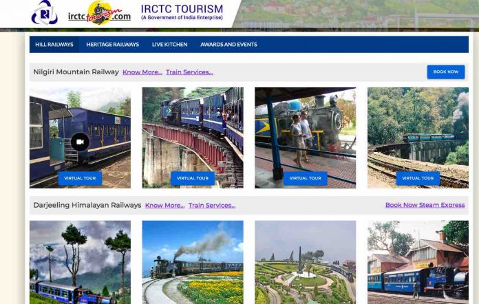 Hill Railways by IRCTC