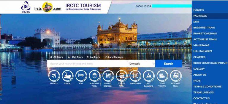 IRCTC Tourism Details
