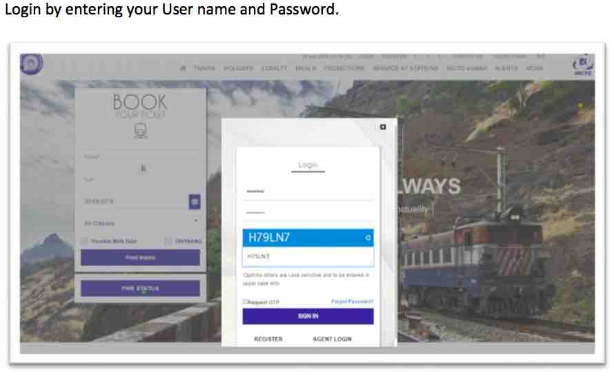 How to change Name and Boarding Station in Train Tickets Details