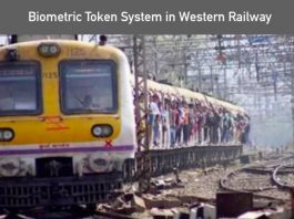 Biometric Token System In Railway
