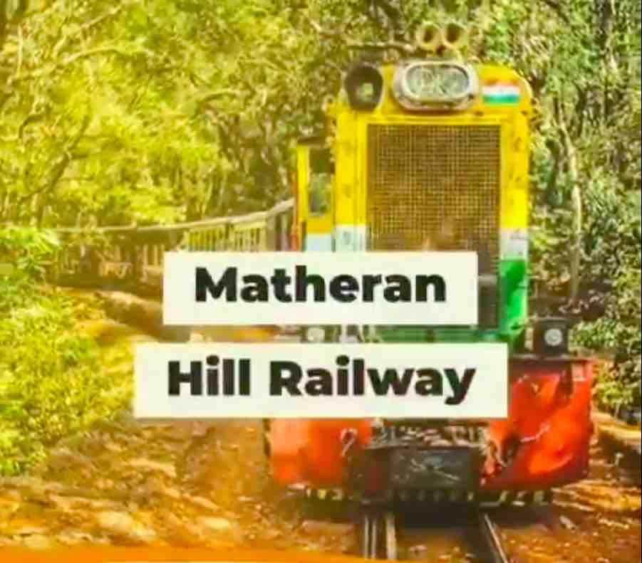 Matheran Hill Railway Route