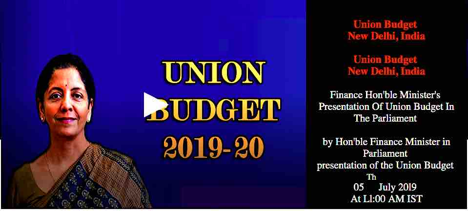 Highlights of Budget 2019 - 2020