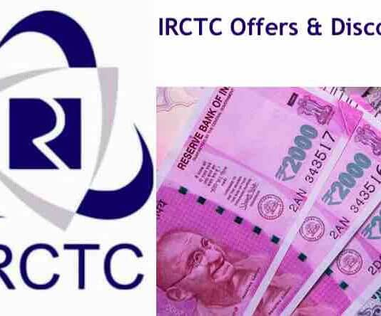 IRCTC Offers & Discounts