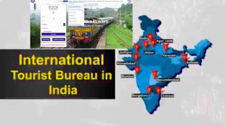 International Tourist Bureau by Railway ~ Indrail Passes