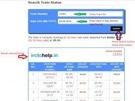 Find Where is My Train Now - Real time Train Track Online