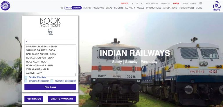 Indian Railway Station Name and Station Code List