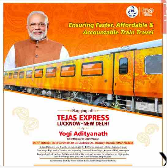 IRCTC Train : Lucknow - New Delhi