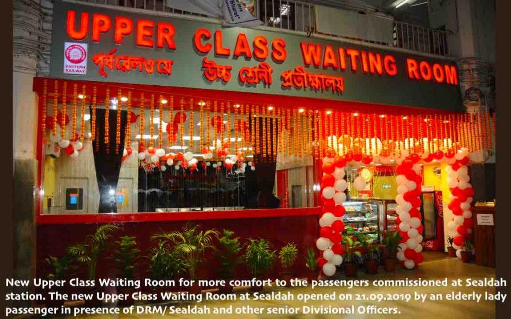 Upper Class Waiting Room at Sealdah Railway Station