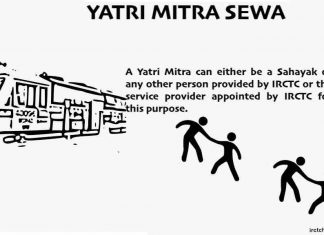 Yatri Mitra Sewa in Indian Railway