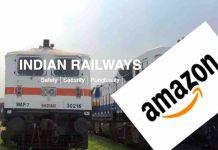 Amazon Consignments via Trains