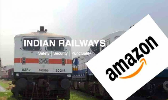 Amazon Consignments via Trains