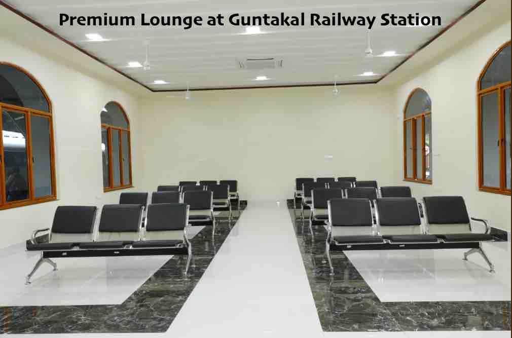 Waiting Area at Guntakal Railway Station