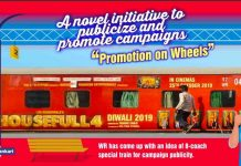 Promotion o­n Wheels Special Trains by Railway