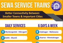 Sewa Service Trains by Railway