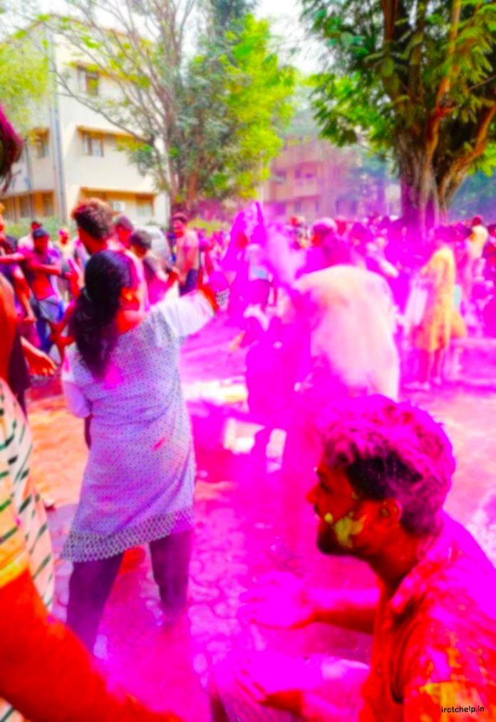 Holi Festival Special Trains