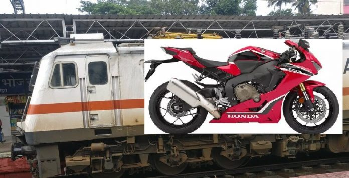 Bike Parcel Process and charges Indian Rail