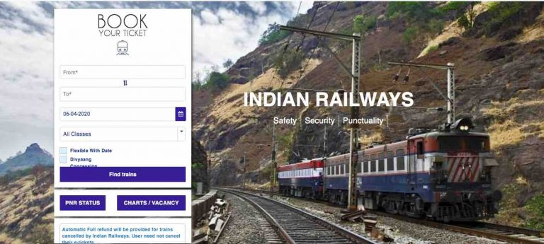 Blank Paper Tickets by Indian Railway