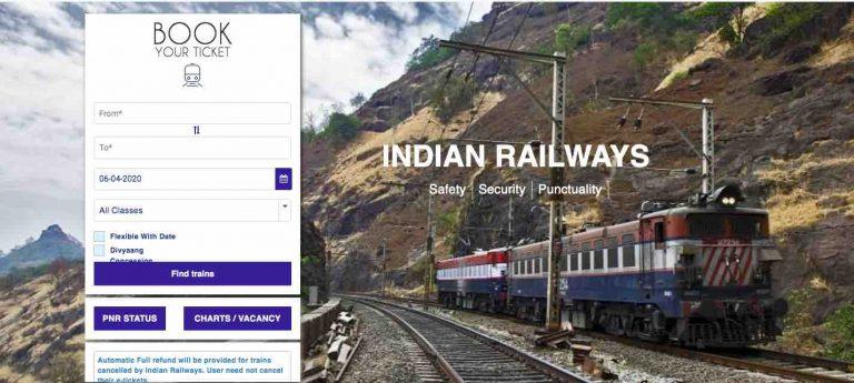 Running Room in Indian Railway