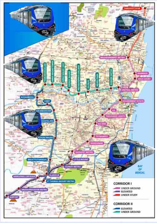 Chennai Metro Railway Details