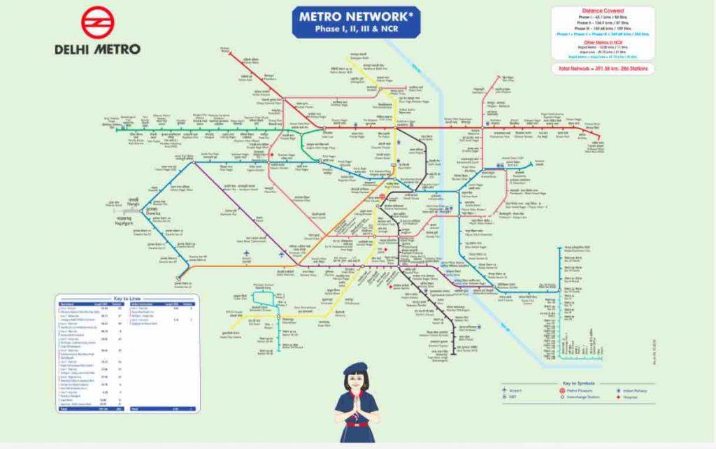 Delhi Metro Network