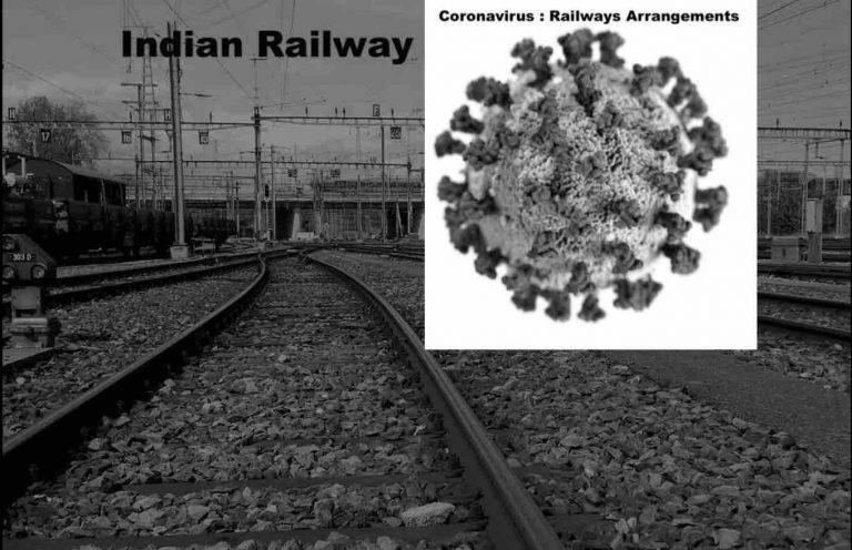 Coronavirus : Railways Arrangements