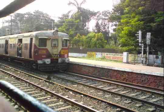 Mumbai Local Trains Route Map