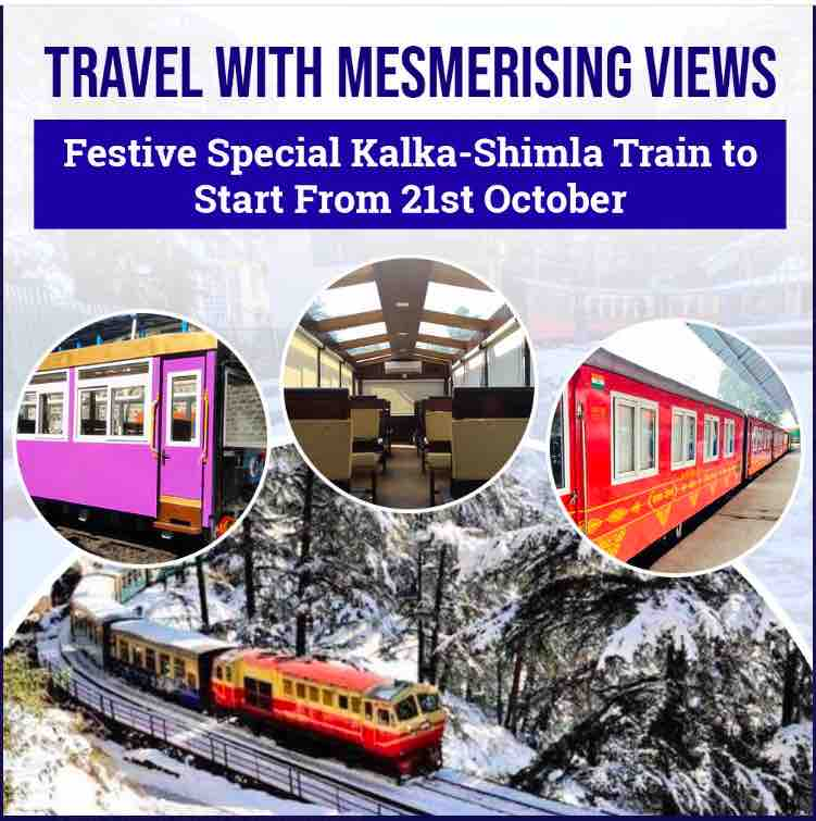 Kalka - Shimla Festival Special Trains