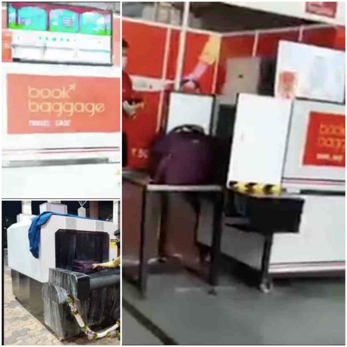 Luggage Wrapping, Sanitisation Services at Railway Stations