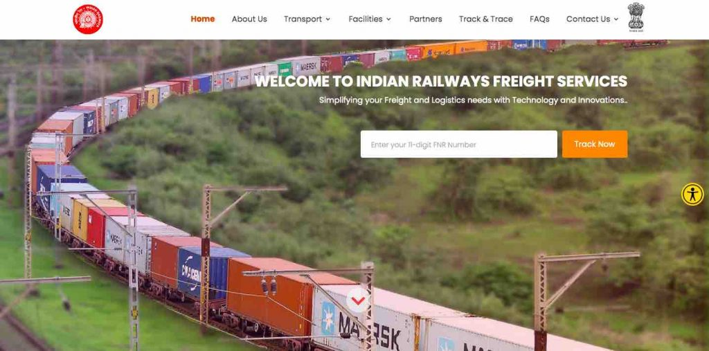New Freight Services Portal by IR