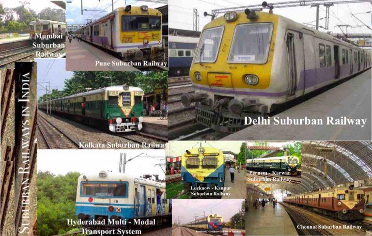 Suburban Trains In India
