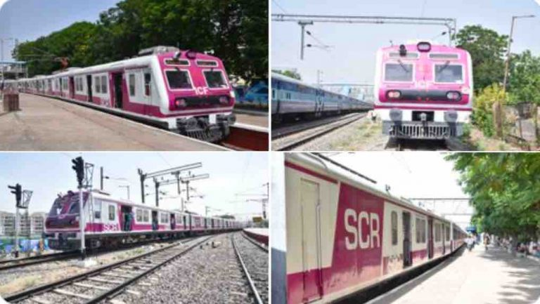 Hyderabad MMTS Suburban Local Train Time Table ~  Download